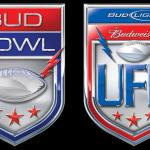 Bud Bowl and UFL Logos