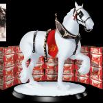 Anheuser Busch Budweiser Clydesdale Display